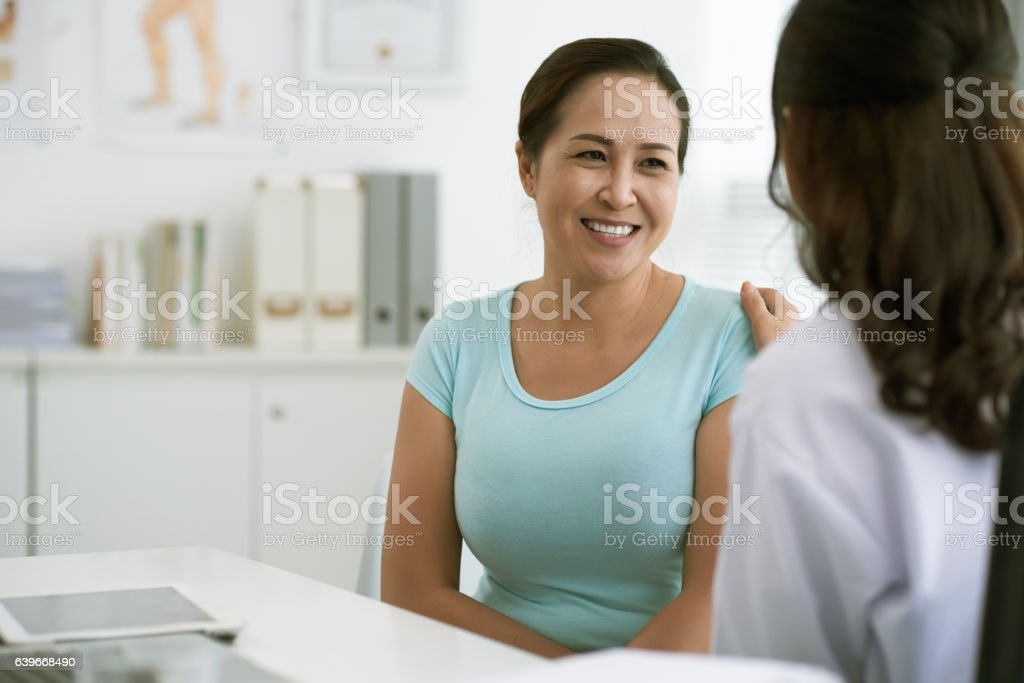 At doctor stock photo
