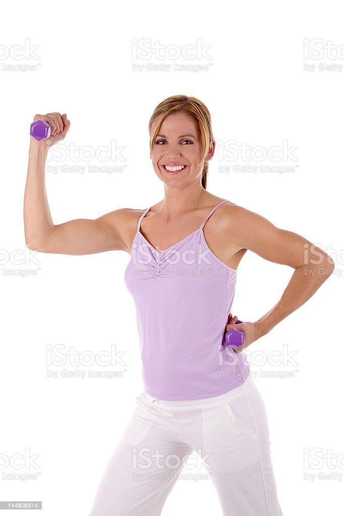 at fitness training royalty-free stock photo