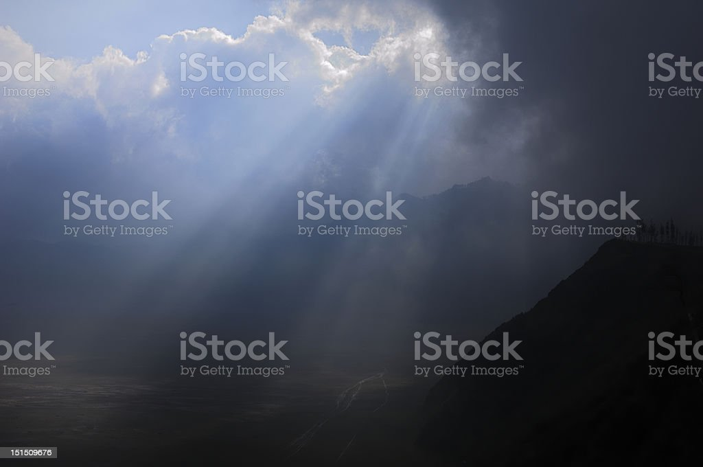 At Gunung Bromo royalty-free stock photo