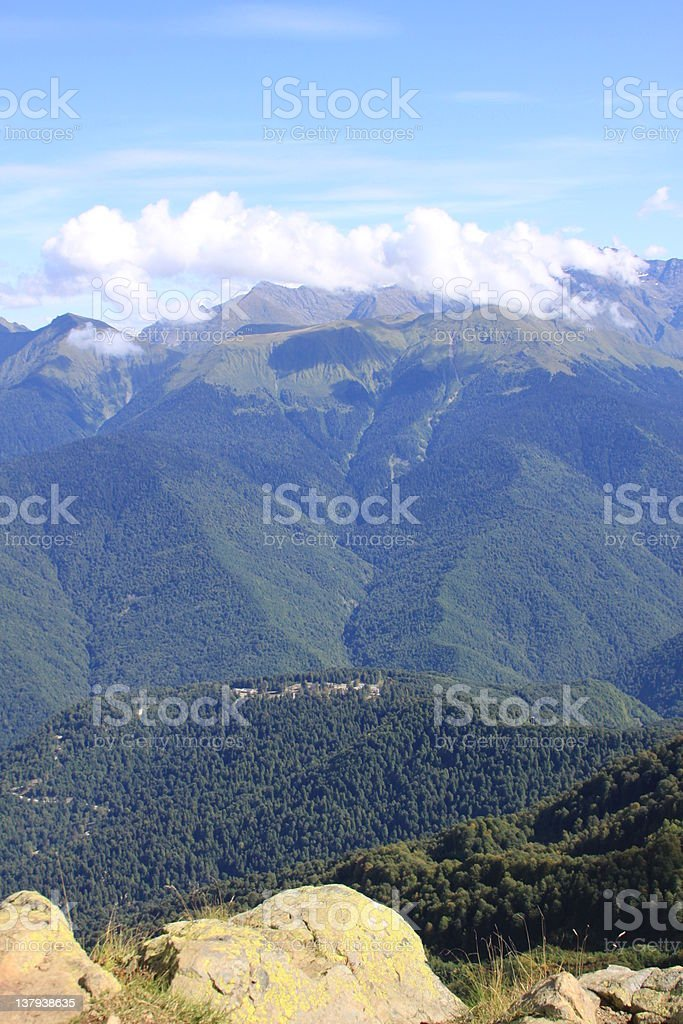 At Height of 2238 Meters royalty-free stock photo