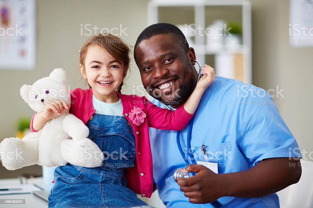 At hospital stock photo
