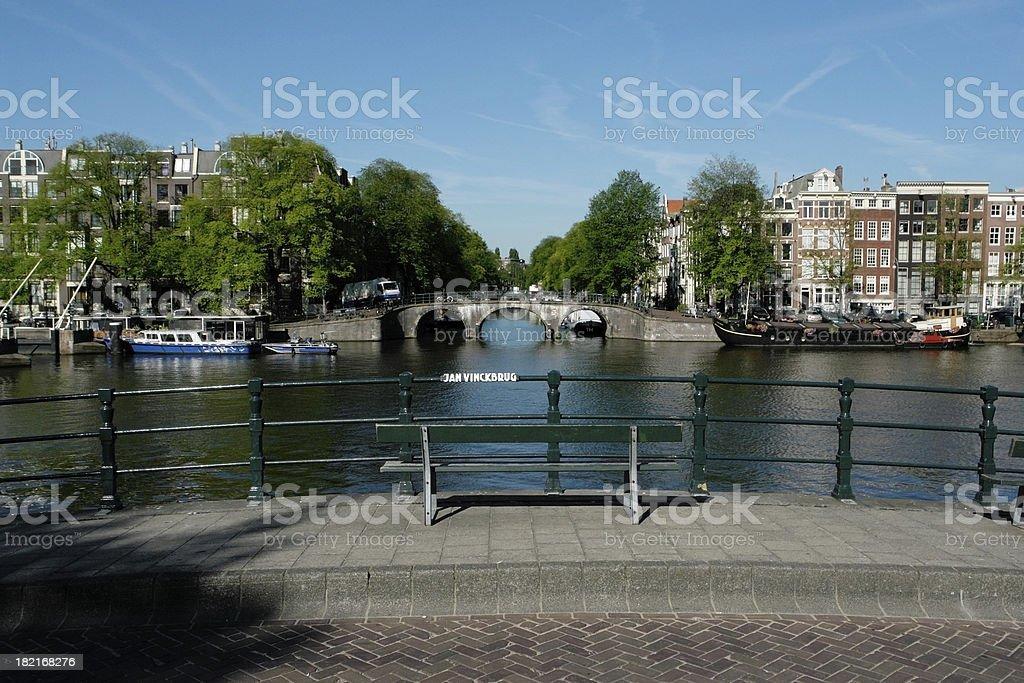 At JanVinckbrug royalty-free stock photo