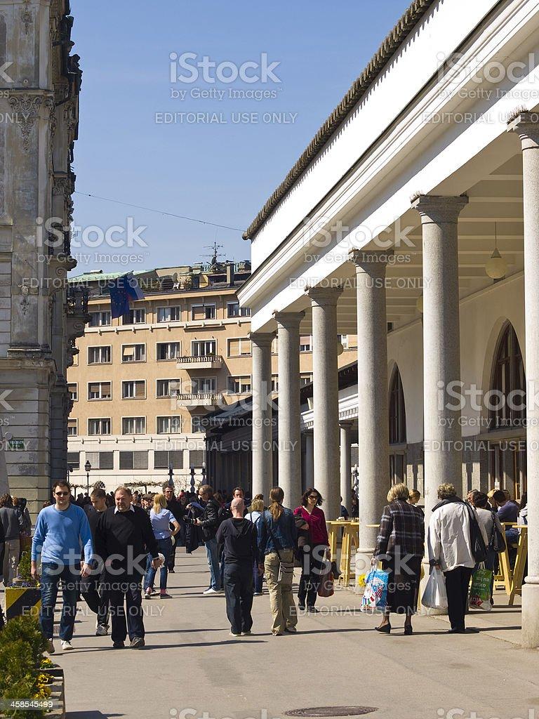 At market stock photo