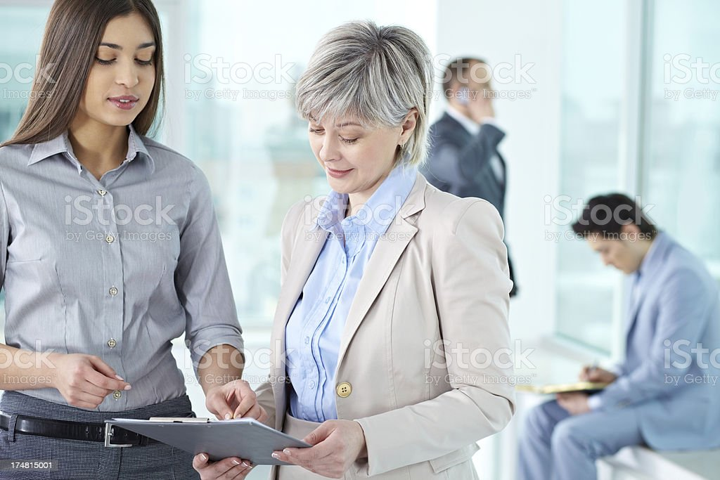 At office royalty-free stock photo