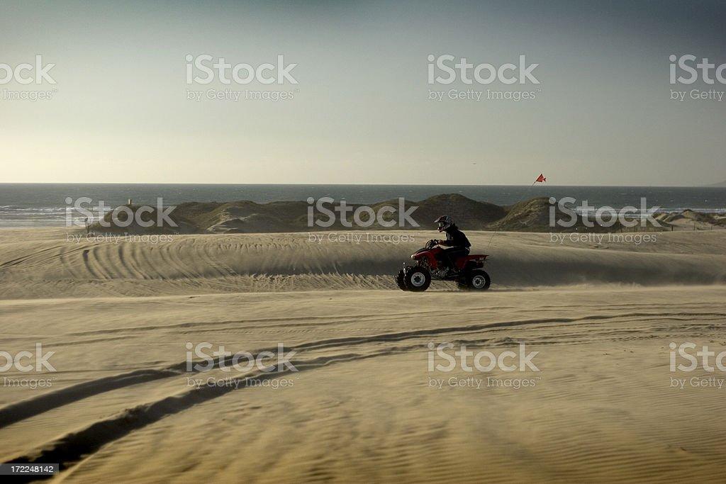 ATV At Pismo Beach stock photo