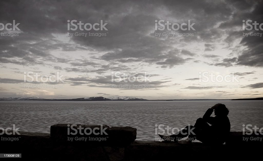 At rest in the world... royalty-free stock photo