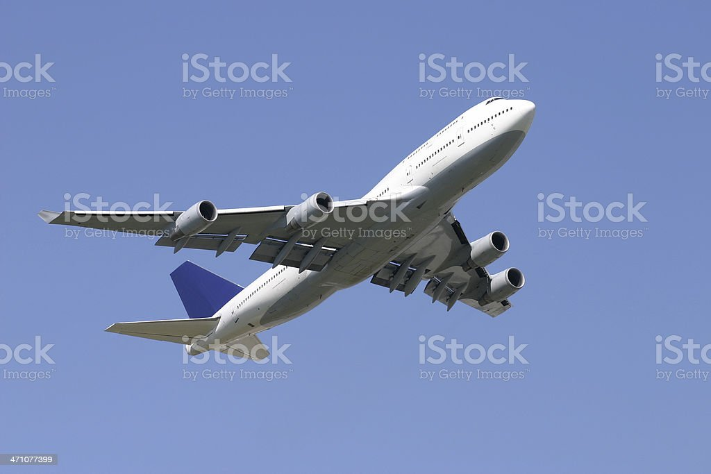 At takeoff royalty-free stock photo