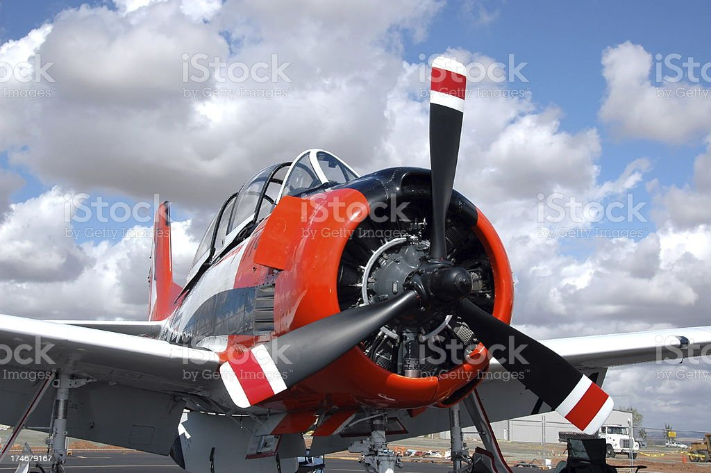 At The Airshow royalty-free stock photo