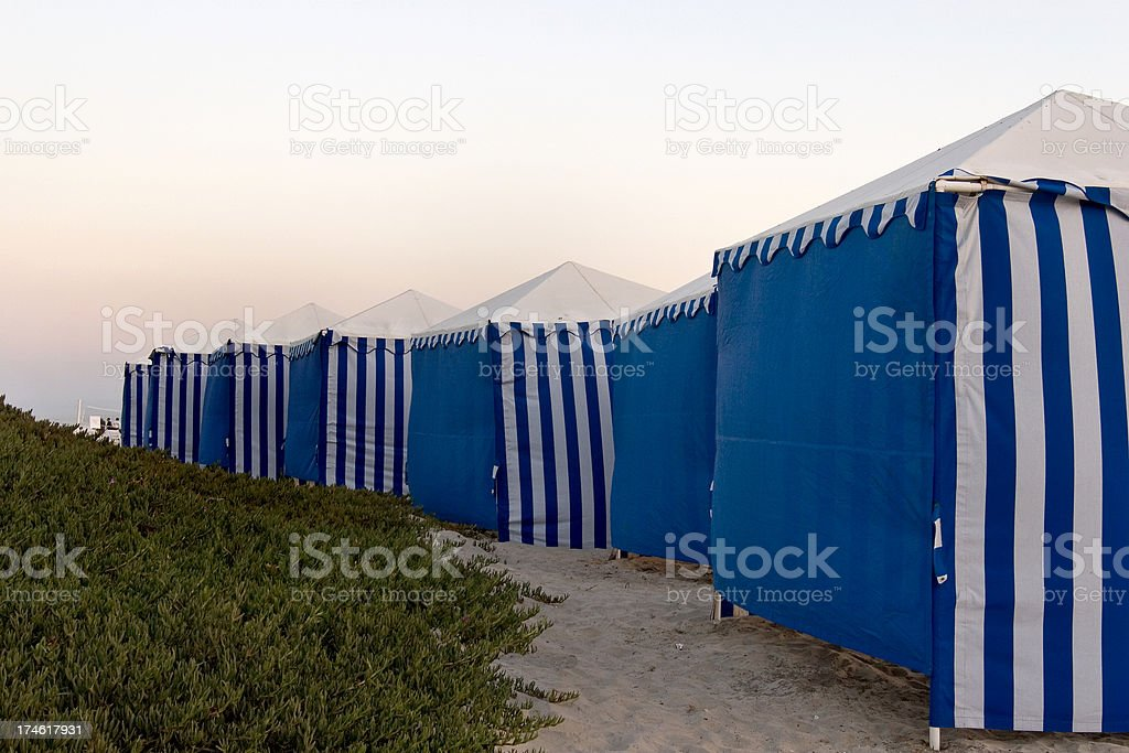 At the back of the tent royalty-free stock photo