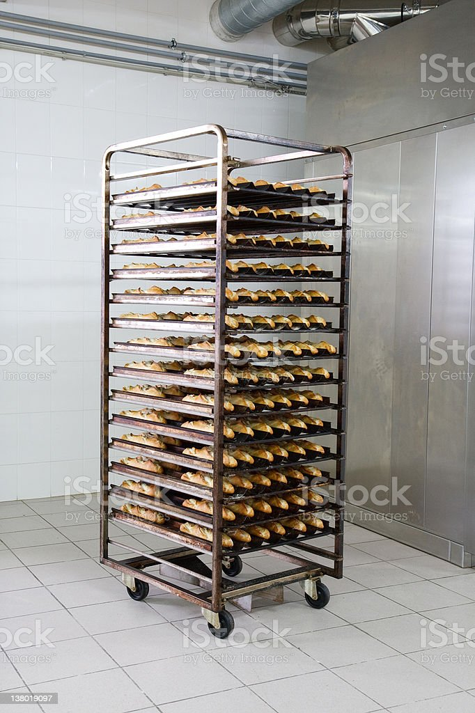 At the bakery royalty-free stock photo