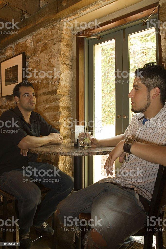 At the bar. royalty-free stock photo