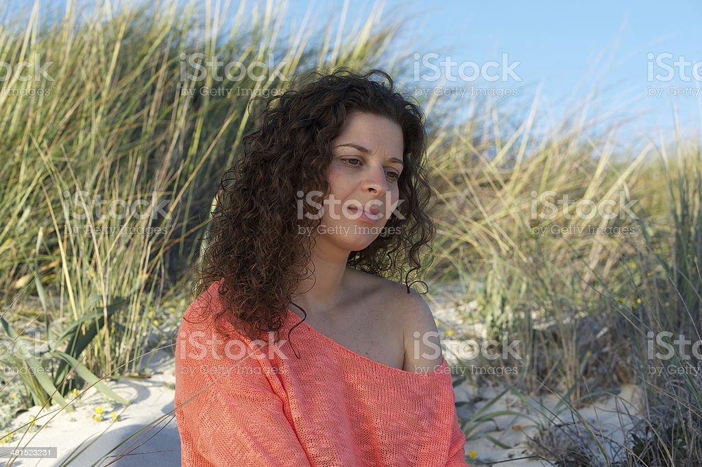 At the Beach royalty-free stock photo