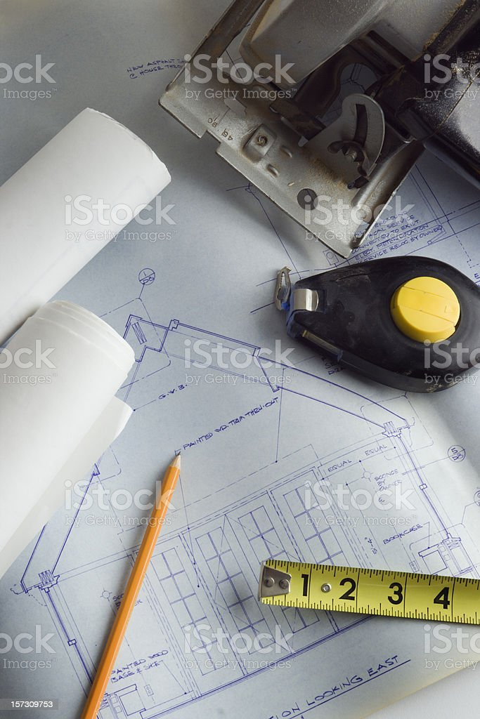 At the Building Site royalty-free stock photo