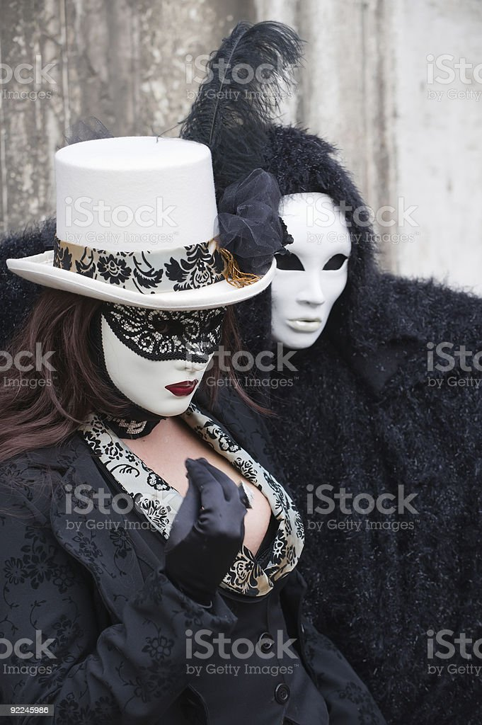 At the carnival in Venice royalty-free stock photo