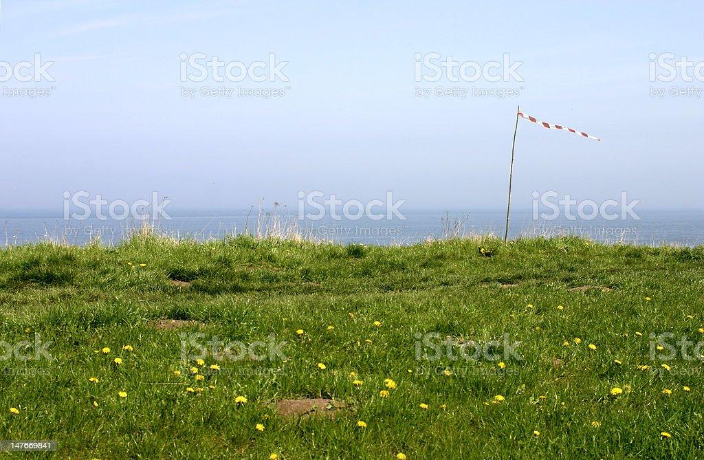 At the coast stock photo