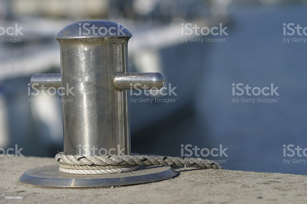 At the docks royalty-free stock photo