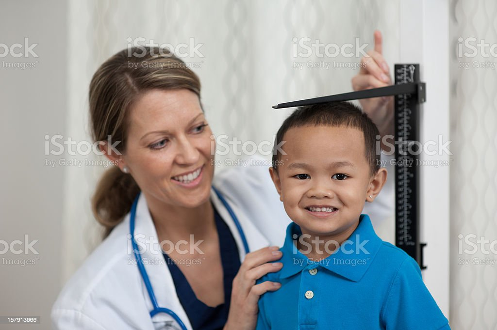 At the doctor stock photo