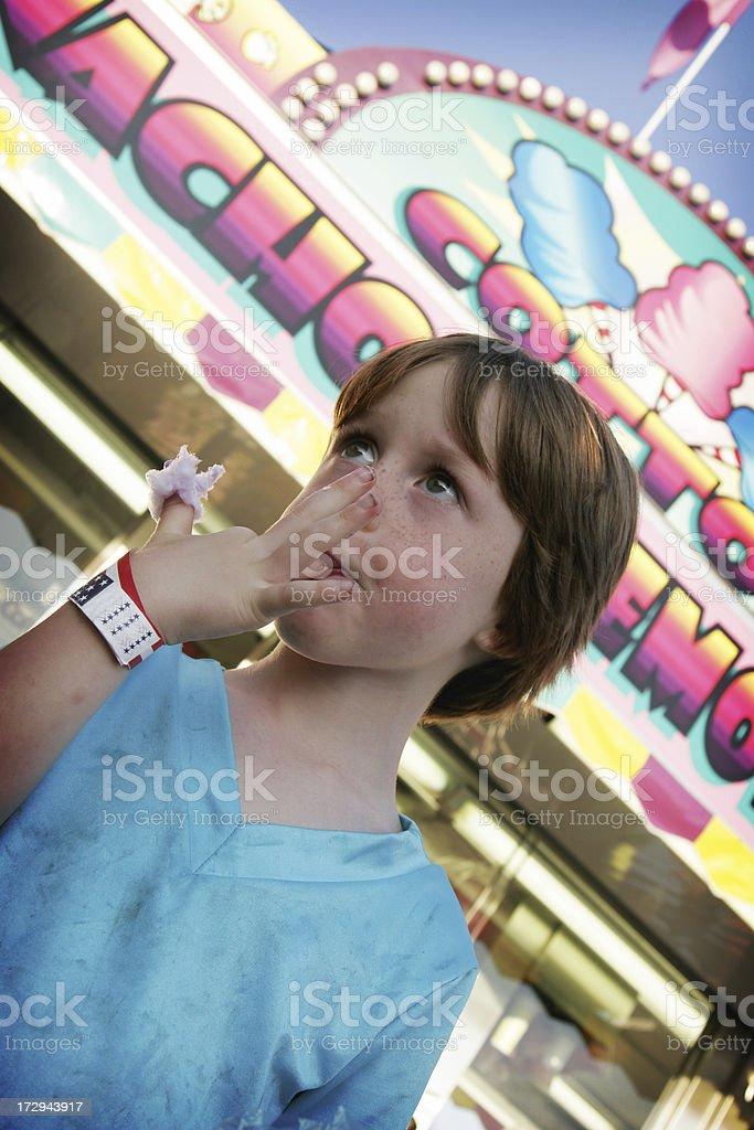 At the Fair Series royalty-free stock photo