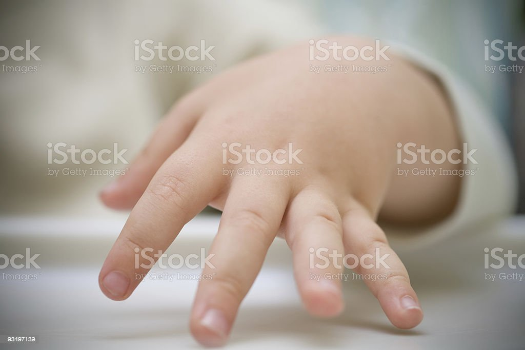 At the fingertips royalty-free stock photo