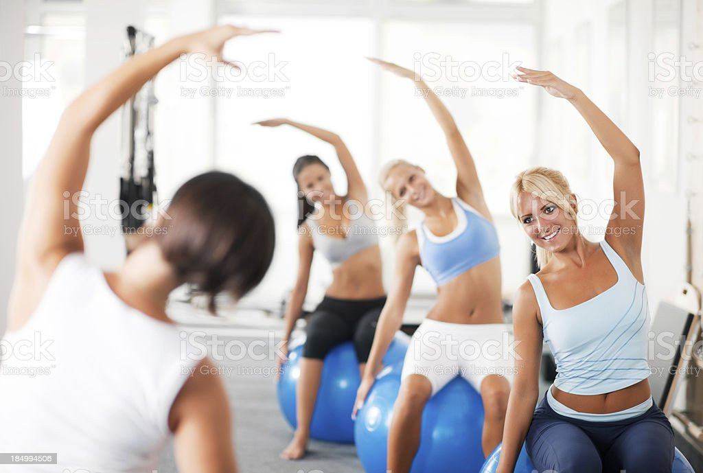 At the fitness club. royalty-free stock photo