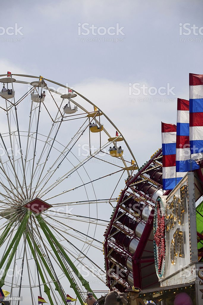 At The Fun Zone royalty-free stock photo