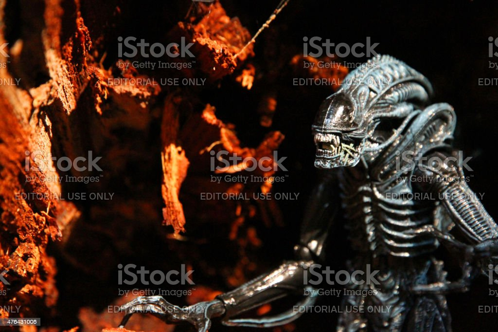 At the Gates of Hell stock photo