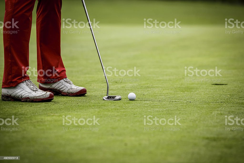 at the golf club stock photo