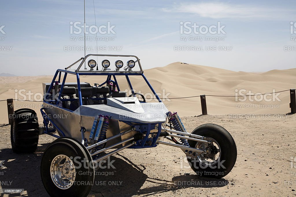 UTV At The Imperial Sand Dunes stock photo