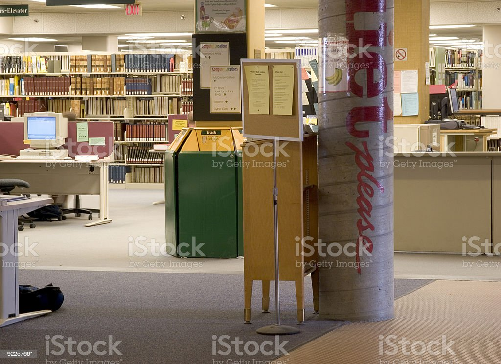 At the Library 2 royalty-free stock photo