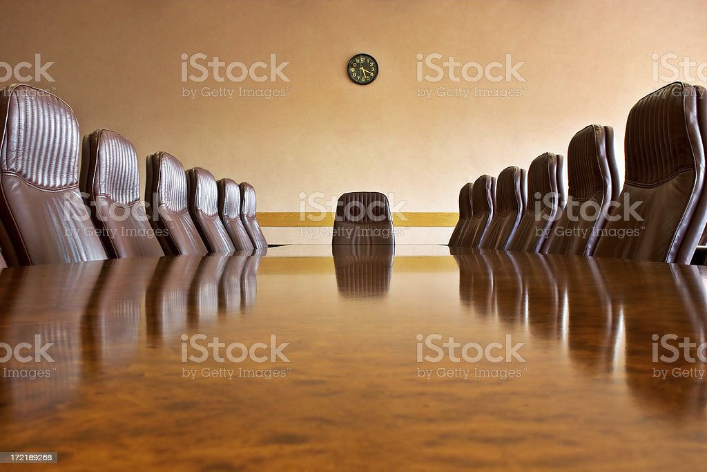 At the meeting room royalty-free stock photo