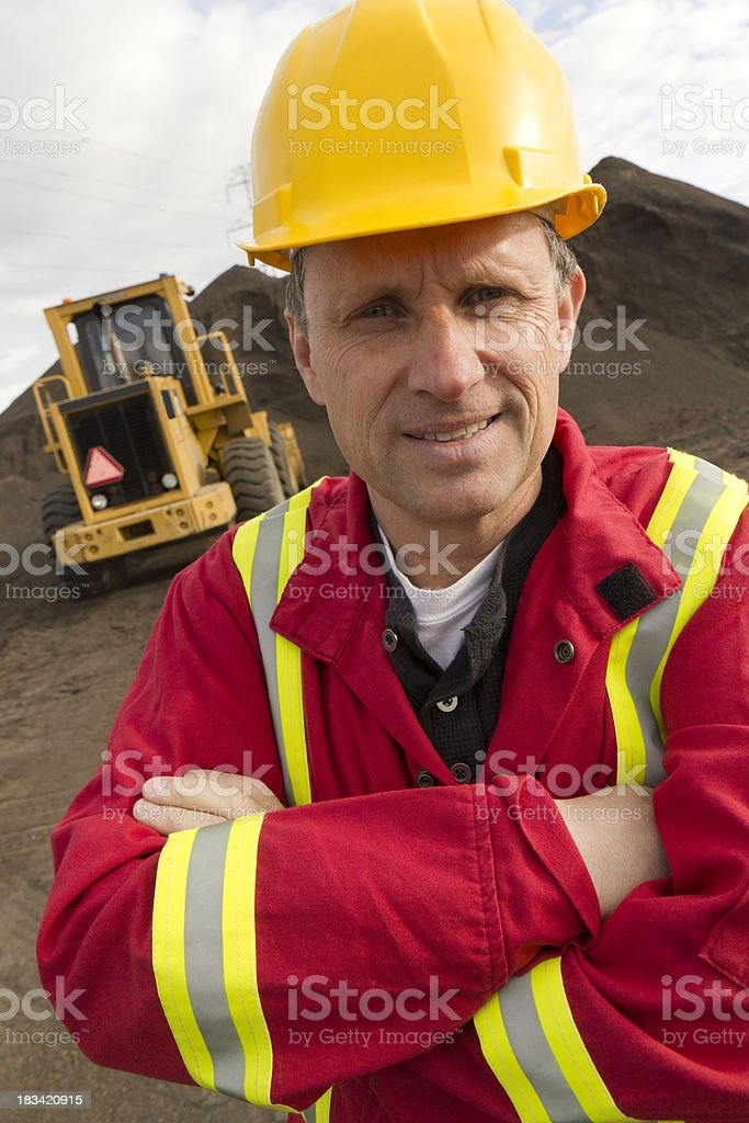 At the Mine royalty-free stock photo