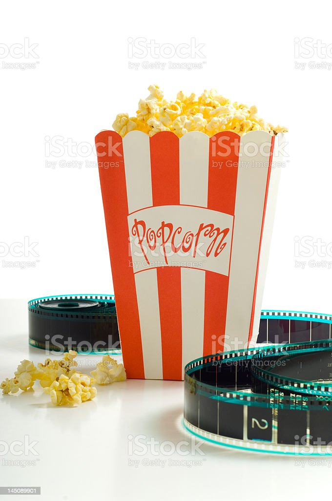 At the Movies stock photo