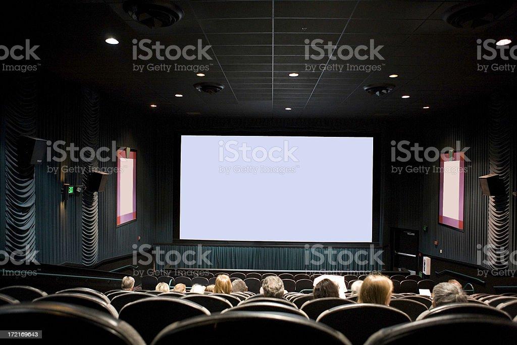 At The Movies royalty-free stock photo