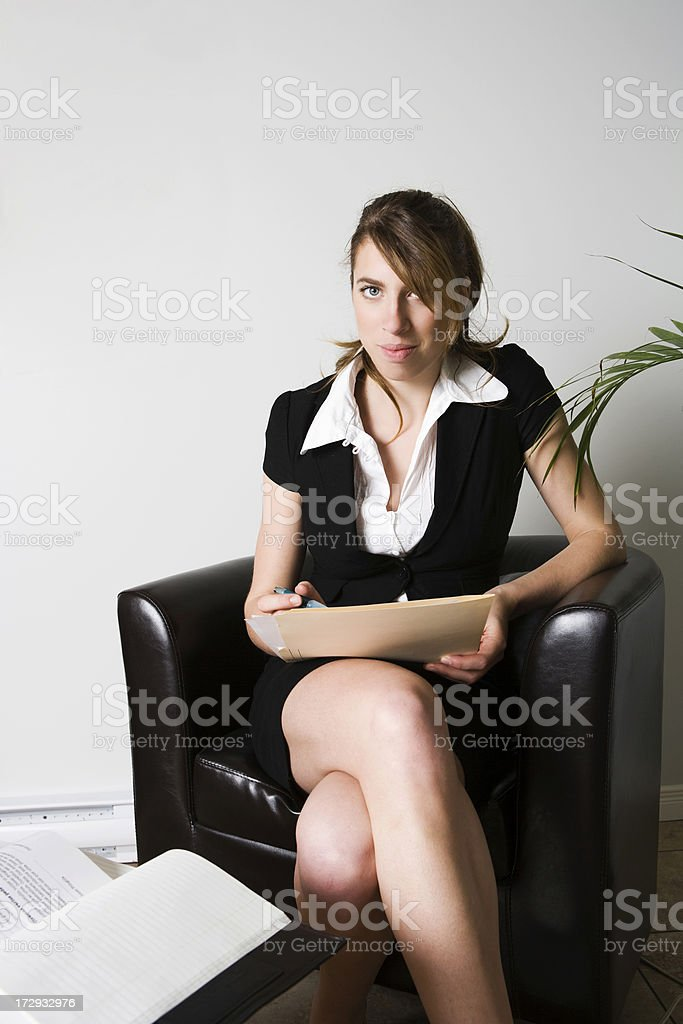 At the office stock photo