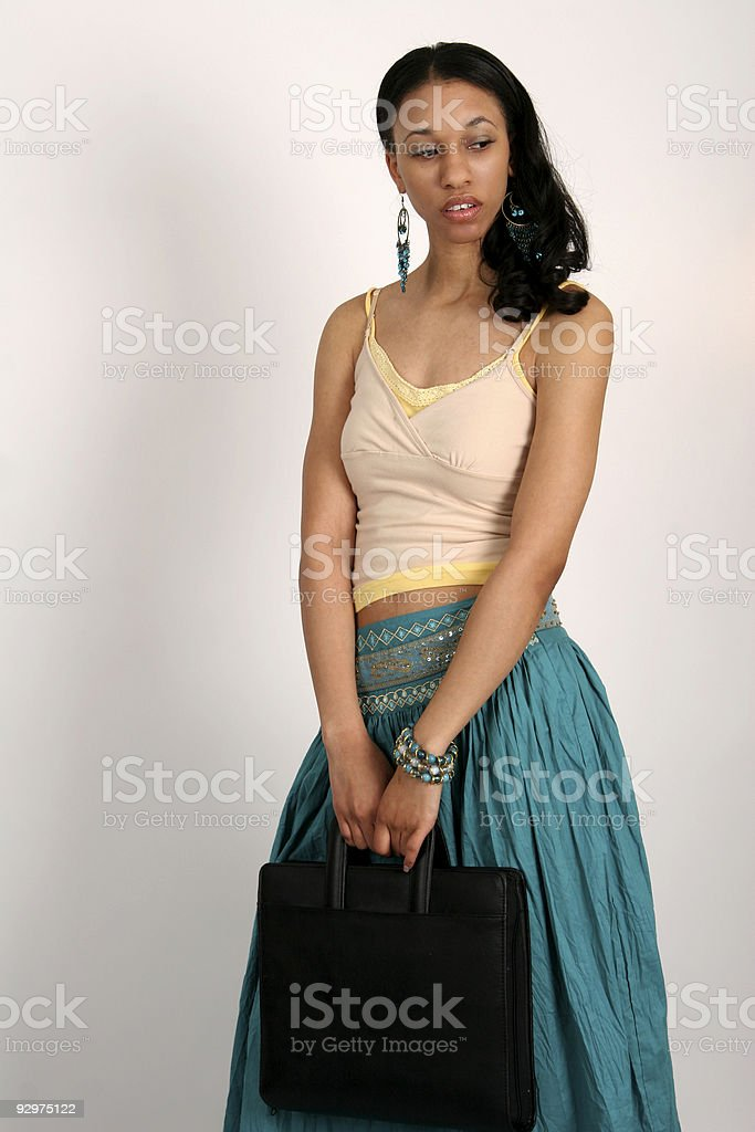 At the office royalty-free stock photo
