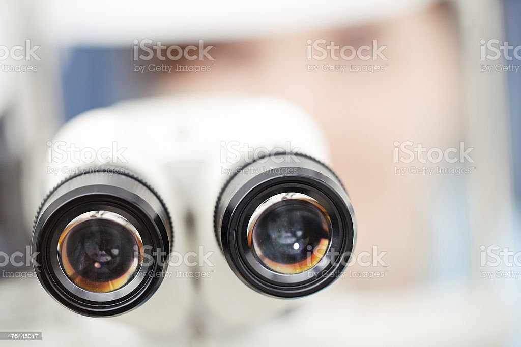 At the Optician stock photo