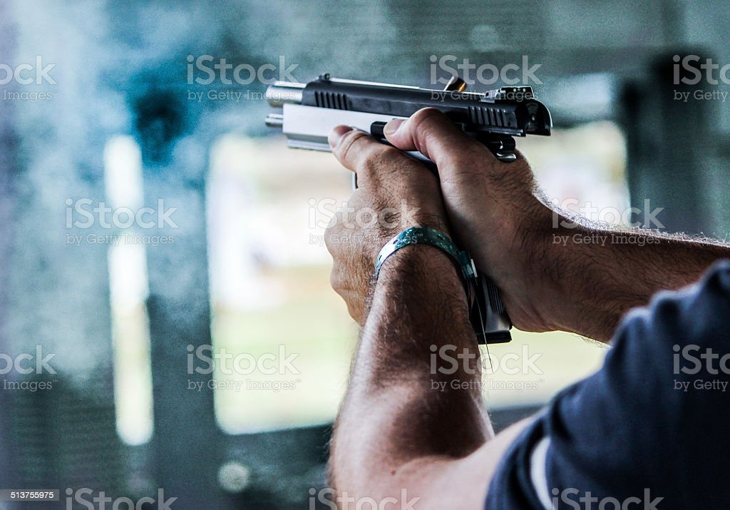 At the Range 1 stock photo
