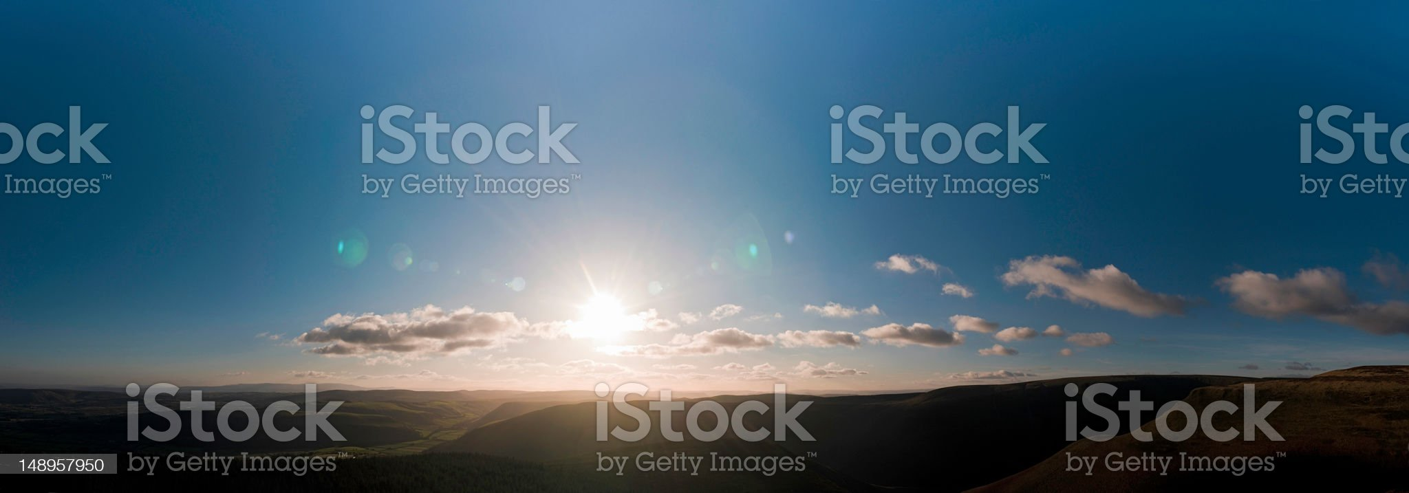 At the setting of sun background royalty-free stock photo