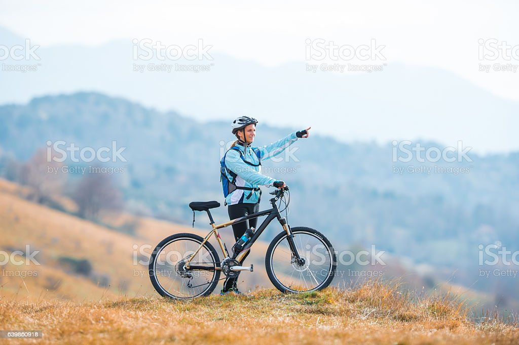 At The Top Of The Plateau stock photo