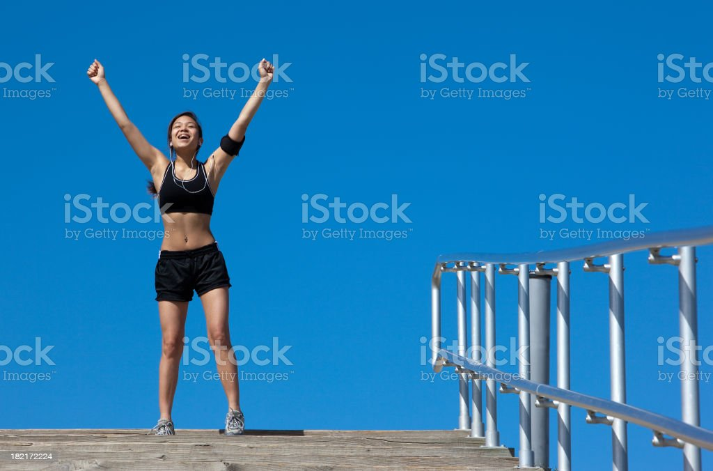 At the Top stock photo
