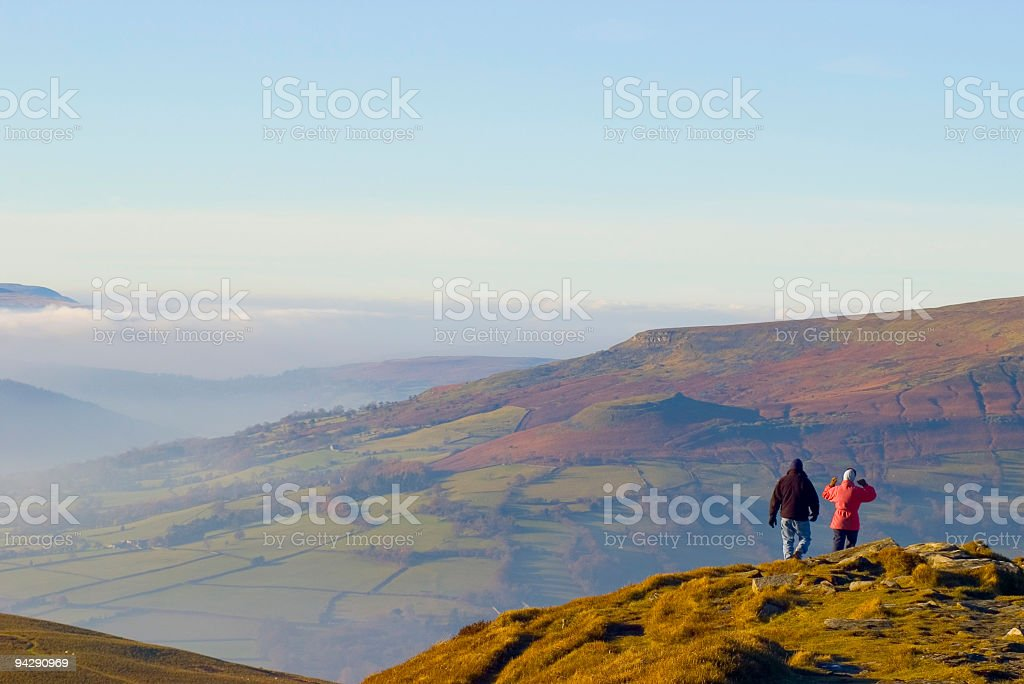 At the top - we made it! royalty-free stock photo