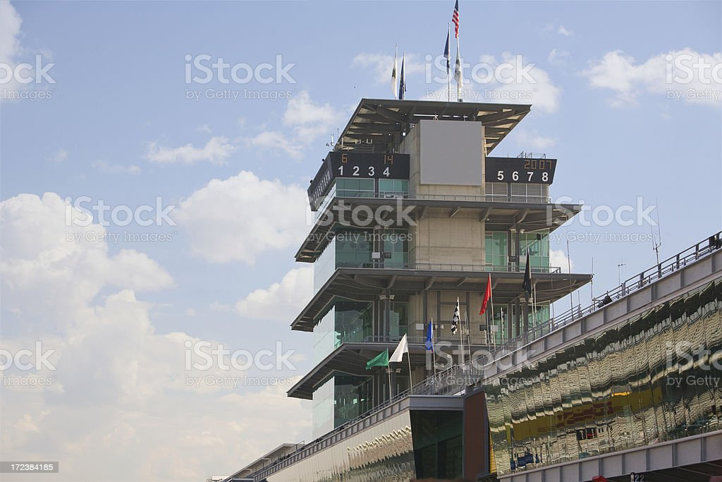 At the Track royalty-free stock photo