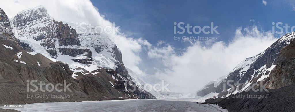 Atabasca Gletser stock photo