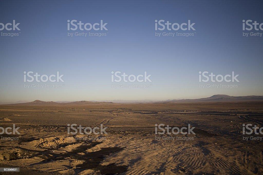 Atacama Desert royalty-free stock photo