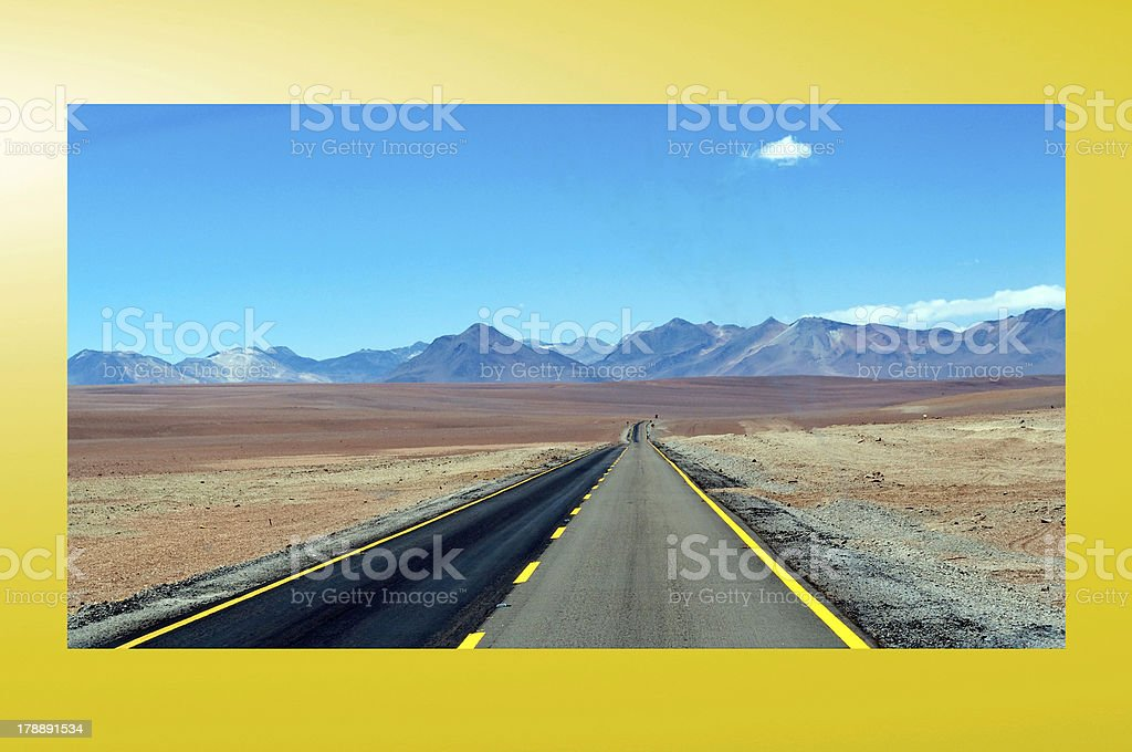 Atacama royalty-free stock photo