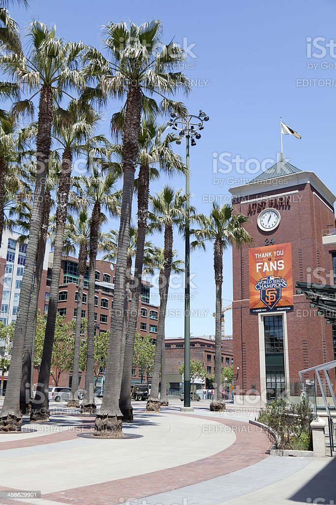 AT&T Park stock photo