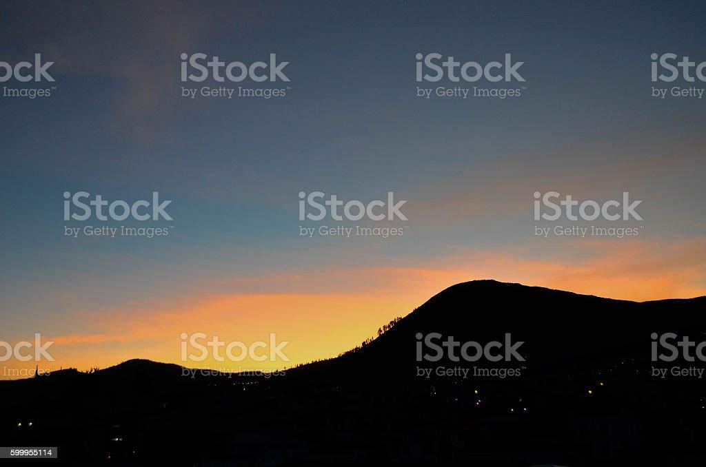 Atardecer - Sunset stock photo