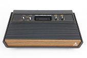 Atari 2600 Vintage Video Game Console