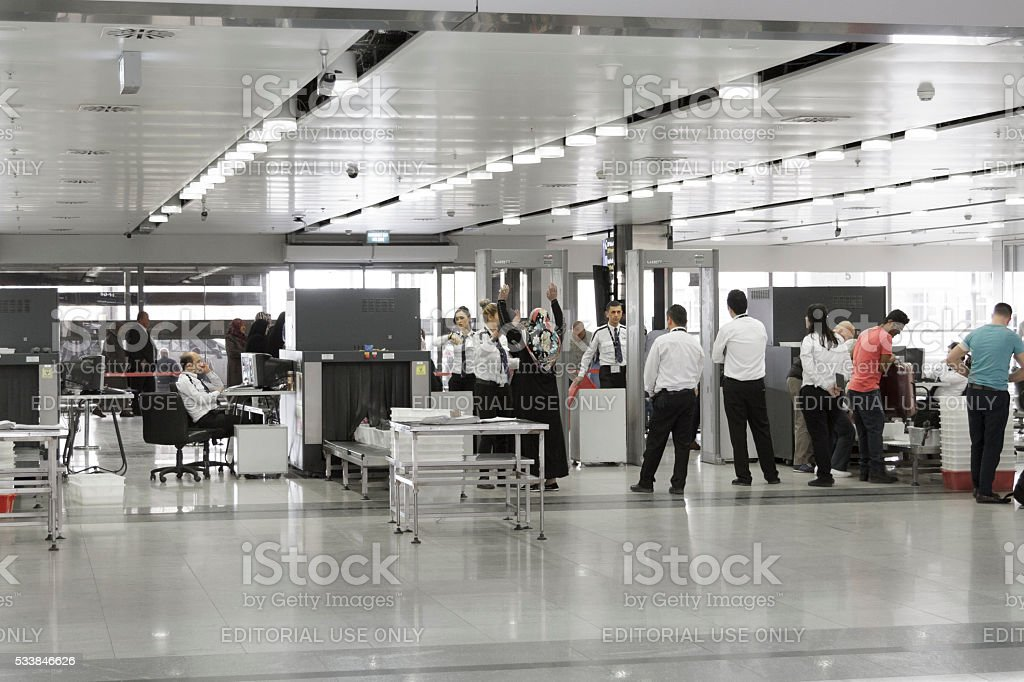 Atatürk airport ( Istanbul,Turkey) stock photo