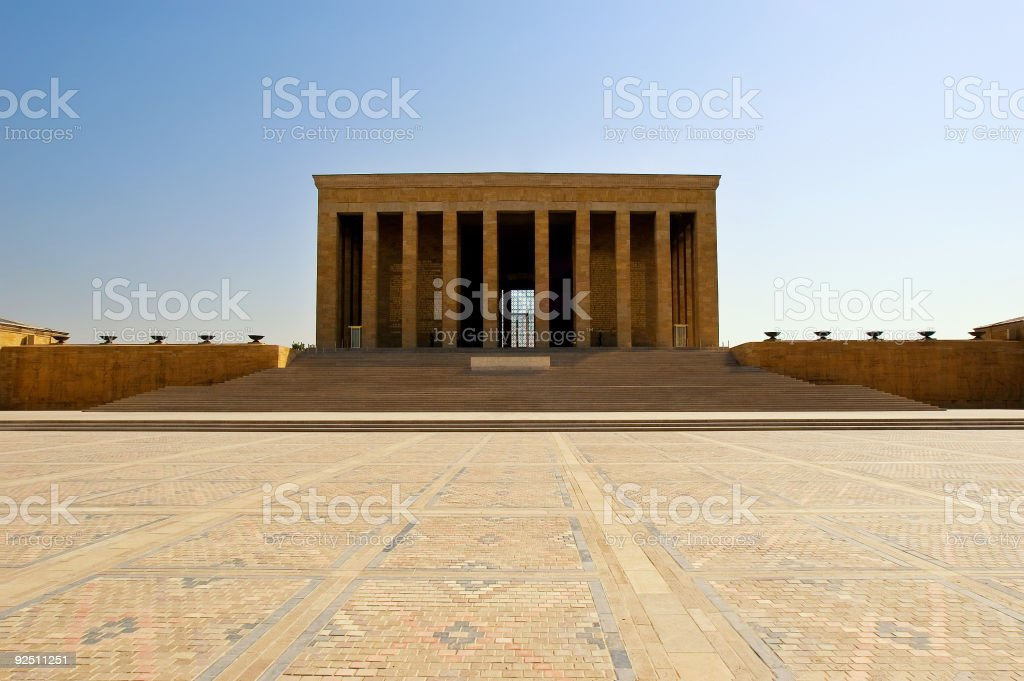 Ataturk's Mausoleum royalty-free stock photo